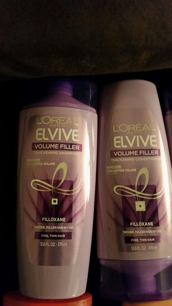 4 sets of L'Oréal Elvive Shampoo & Conditioner