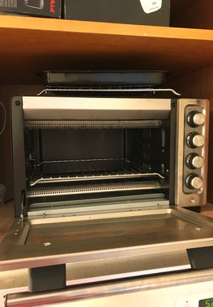KitchenAid compact oven toaster oven KCO253BM great shape! Retail 140!! for Sale in Escondido, CA