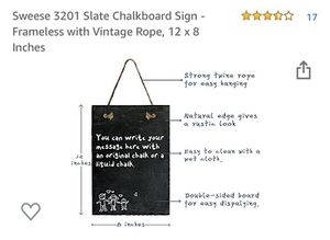 Slate chalkboard for Sale in Stuarts Draft, VA