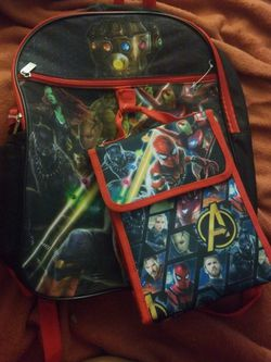 New AVENGERS back Pack w/ Lunch Bag for Sale in Silver Spring,  MD