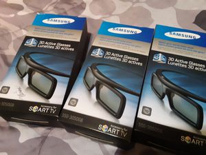 Samsung 3D active glasses (3 pairs) for Sale in Port Arthur, TX