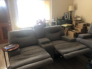 Reclining couches push button electric for Sale in Escondido, CA