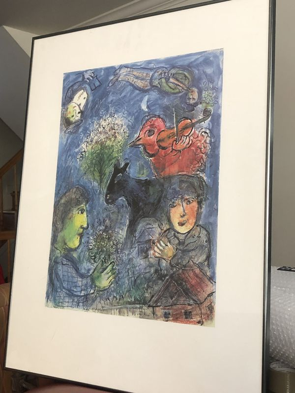 L'Ete, Marc Chagall