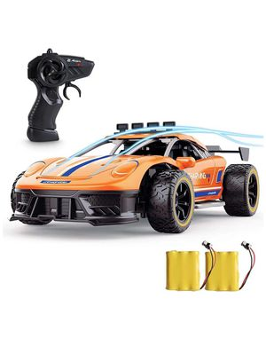 High Speed 2.4Ghz 1/16 RC Car, Radio Electric RC Cars Toy Cars Model Vehicle with Two Rechargeable Batteries for Sale in Corona, CA