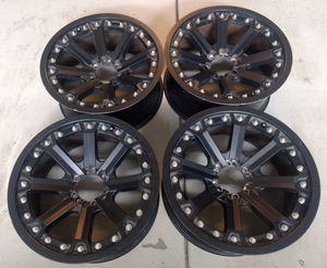 "Black wheels Rims 20"" for Sale in Perris, CA"