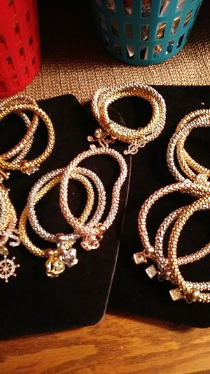 6- different elasticity bangle bracelets for Sale in Fresno, CA