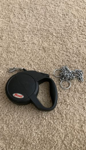 Dog leash and choke collar for Sale in Dublin, CA