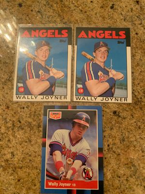 3 Wally Joyner Baseball Cards for Sale in Upland, CA