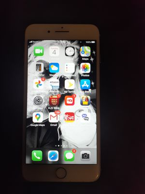 iPhone 8 plus 64 gigabyte and 7 cases, 3 chargers and a pair of headphones for Sale in McDonogh, MD