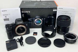 Sony Alpha A7 II 24.3MP Digital Camera Bundle for Sale in Palos Hills, IL