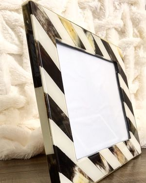 Bone and horn picture frame for Sale in Miami, FL