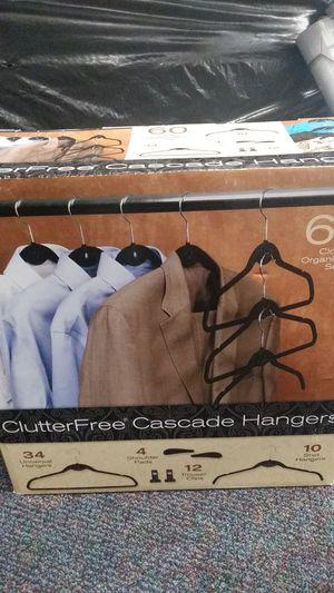 Clutter-free Cascade hangers set for Sale in Riverside, CA