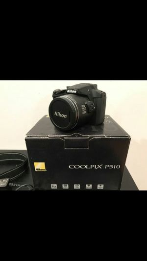 Nikon coolpix p510 for Sale in Davenport, IA