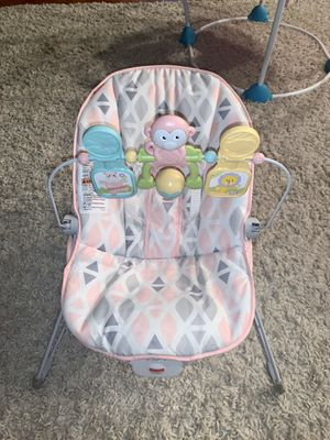 Baby girl bouncy seat for Sale in Tolleson, AZ