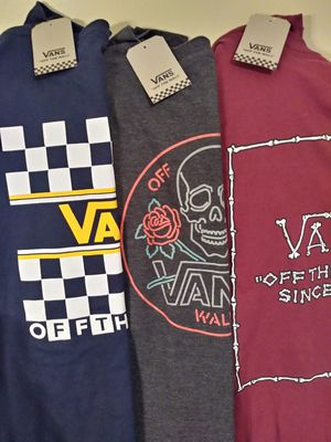3 New Vans Long Sleeve Tees size XXL for Sale in Covington, KY