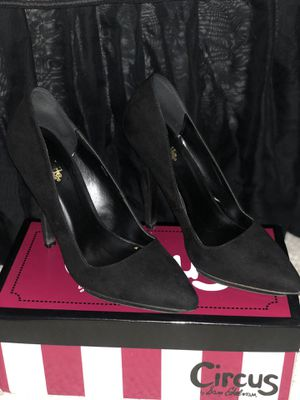 Black Suede Pointy Heels for Sale in Tempe, AZ
