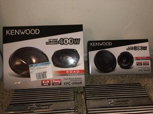 6x9 speakers for Sale in Rancho Cucamonga, CA