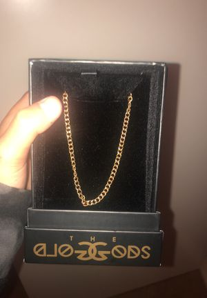 Gold gods chain for Sale in Portland, OR