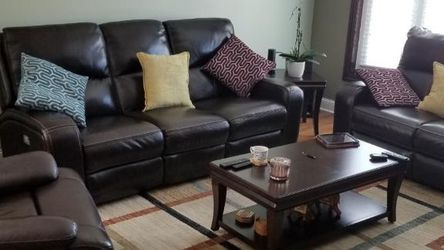 Leather Living Room Set for Sale in Des Plaines,  IL
