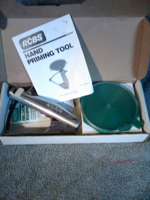 RCBS Hand Priming Tool (Reloading) for Sale in Portland, OR