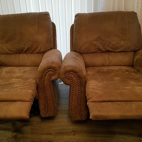 Two Ashley' s Furniture Recliners
