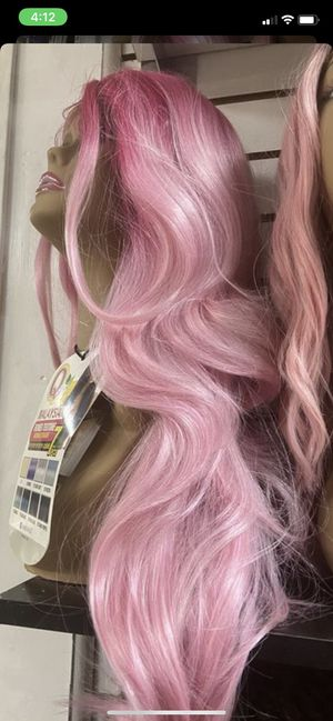 New pink lace front wig for Sale in Stockton, CA