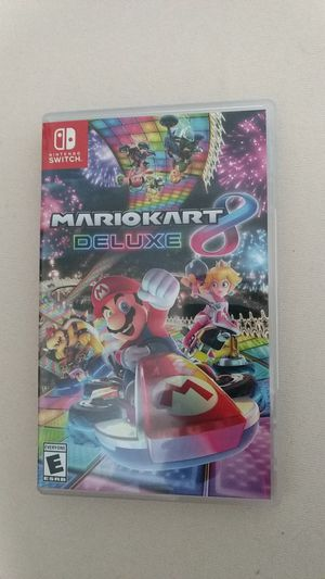 Mario kart 8 deluxe. Switch for Sale in Washington, DC