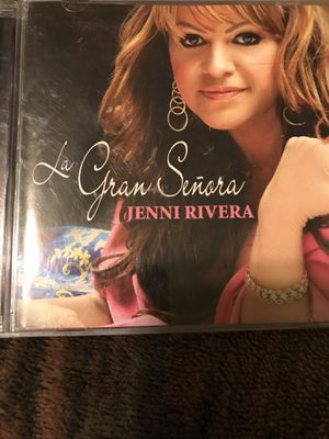 """!! Jenni Rivera Spanish CD """"Le Gran Señora"""" for Sale in San Fernando, CA"""