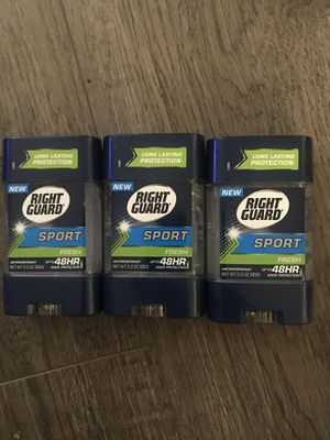Right guard sport fresh antiperspirant $2.50 each for Sale in San Bernardino, CA