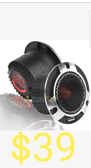 "2xMEMPHIS SRXPT 4"" 400W 100 RMS COMPONENT PRO TWEETERS SPEAKERS PAIR CAR AUDIO NEW for Sale in San Diego, CA"