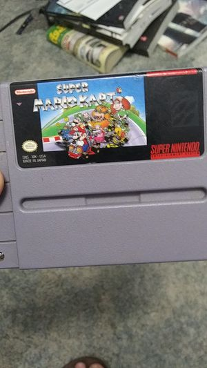 Super mario kart for Sale in Madera, CA