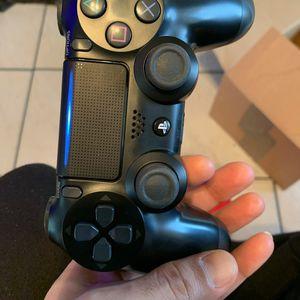 PS4 (Jet Black) Sony Wireless Controller for Sale in Hialeah, FL