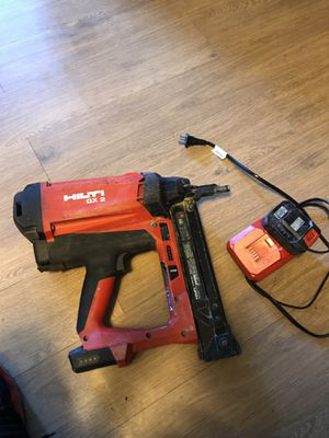 HIlti 3542087 GX2 + 2 12V BATTERIES + 1 CHARGER direct fastening / 1 pc for Sale in Alexandria, VA
