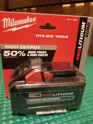 Milwaukee Battery 8.0Ah M18 for Sale in Norwalk, CA