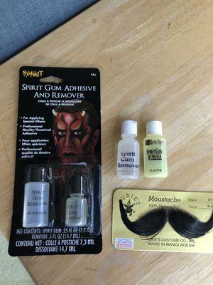 Halloween Fake Mustache Kit for Sale in Pleasanton, CA