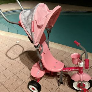 Kids Radio Flyer Tricycle , Pink for Sale in Fort Lauderdale, FL