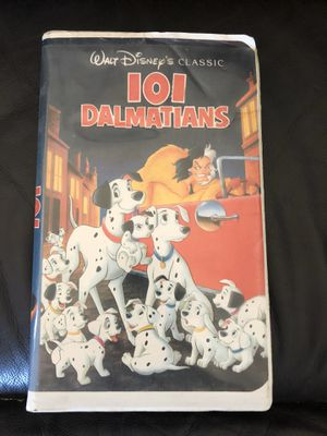 Disney 101 Dalmatians Black Diamond vhs Collectible for Sale in Culver City, CA