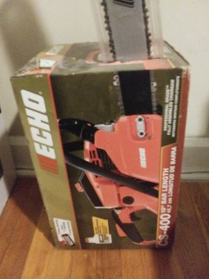 Echo chainsaw brand new for Sale in Everett, MA