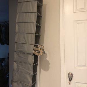 Hanging Closet Shoe Organizer. for Sale in Stockton, CA