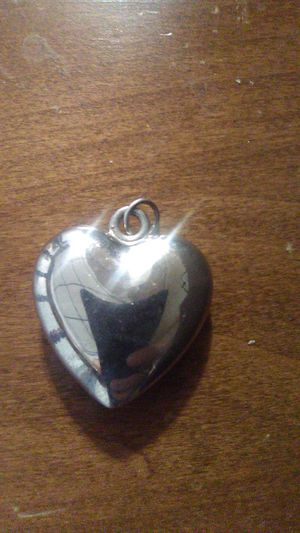 Sterling silver Heart Charm for Sale in Greensburg, PA