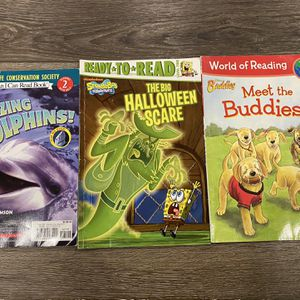 Set Of 3 Learn To Read Level 2 Books for Sale in Lake Worth, FL