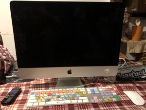 IMac with Logic Keyboard and Magic Mouse for Sale in Charlottesville, VA