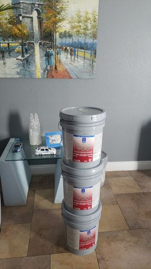 House paint agreeable grey eggshell 3 buckets for only $150 firm for Sale in Las Vegas, NV