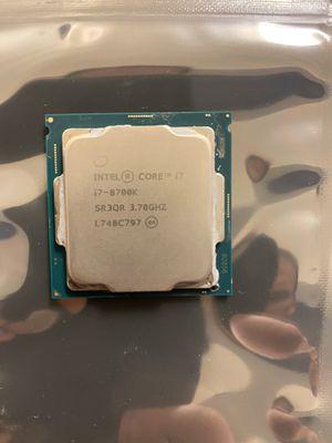 Intel Core i7-8700k LGA 1151 cpu only. for Sale in Bremerton, WA