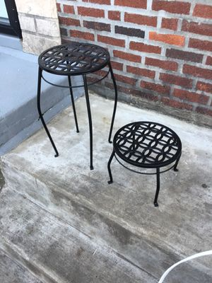 Matching plant stands for Sale in Philadelphia, PA