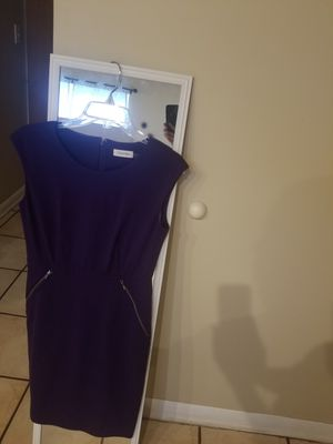Calvin Klein purple dress size 6 for Sale in Miami, FL