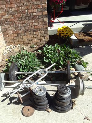 Weight set for Sale in Greenwood, IN