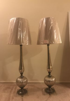 Two brand new Mercury glass lamps! for Sale in Los Angeles, CA