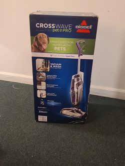 Bissell CROSSWAVE PET PRO - Multi-Surface Cleaner for Sale in Everett,  WA
