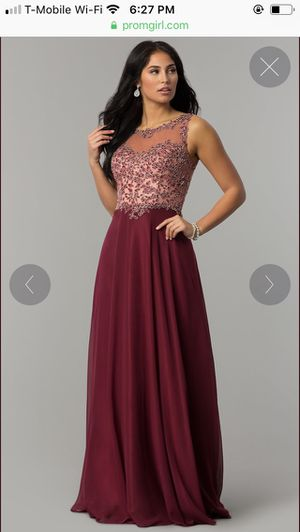 Elegant evening/prom gown for Sale in Sterling, VA